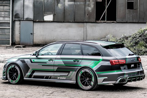 ABT RS6-E rear quarter