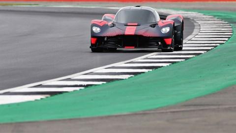 Aston Martin Valkyrie Makes Dynamic Debut At British F1 Gp