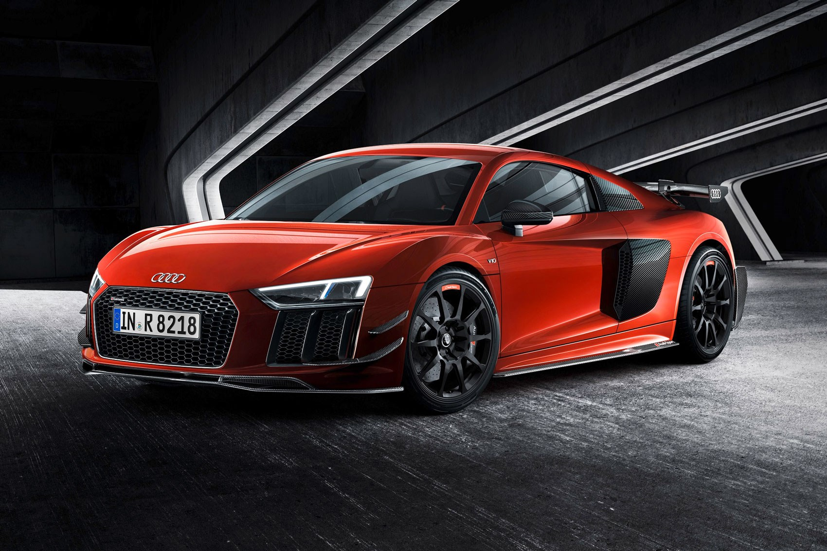 ultra exclusive audi r8 performance parts bound for uk car magazine. Black Bedroom Furniture Sets. Home Design Ideas