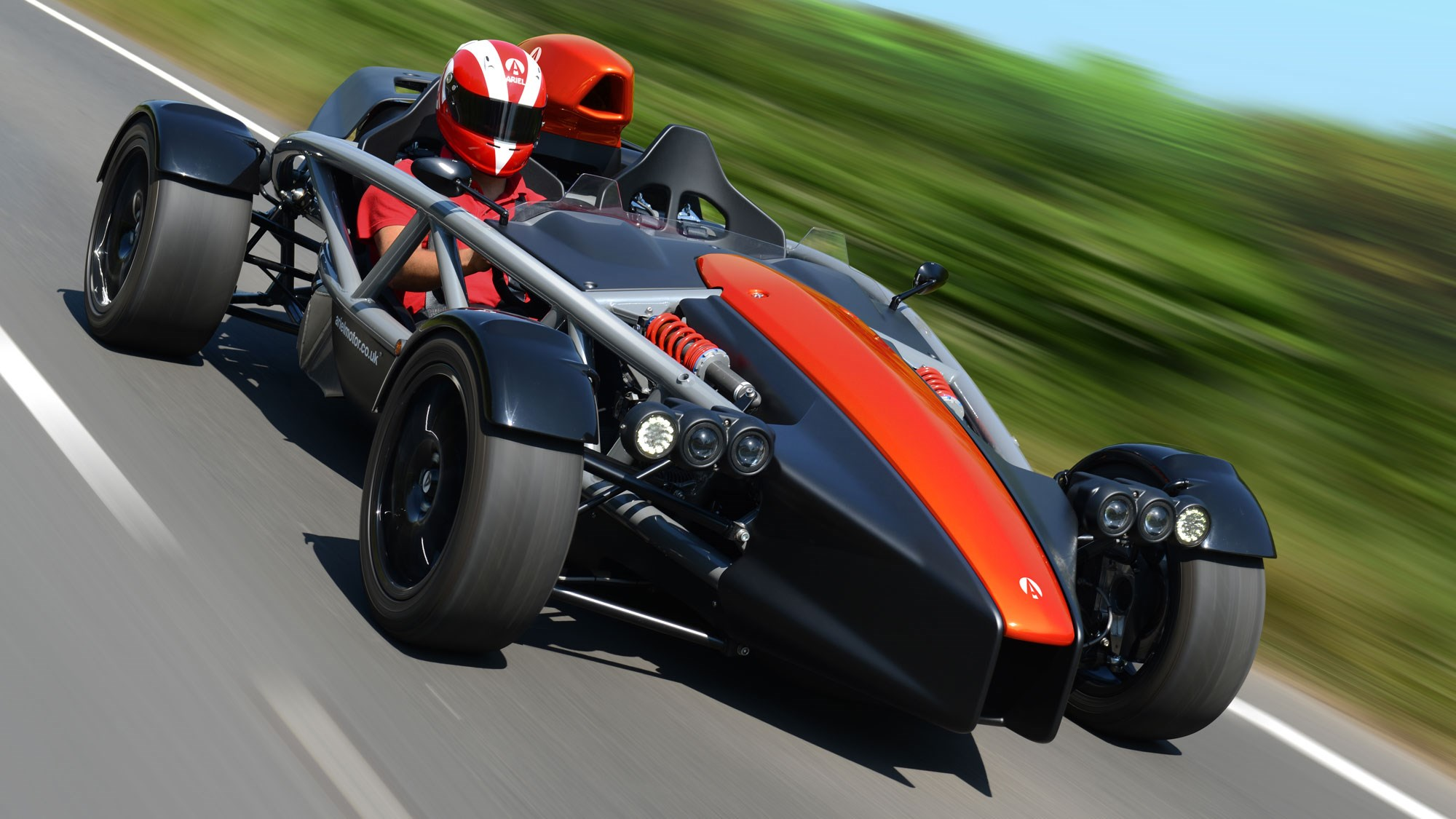 Ariel Atom 4 debuts with Honda Civic Type R power