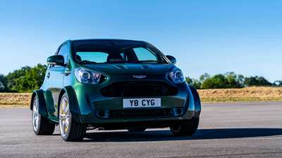 Aston Martin Cygnet Car Magazine