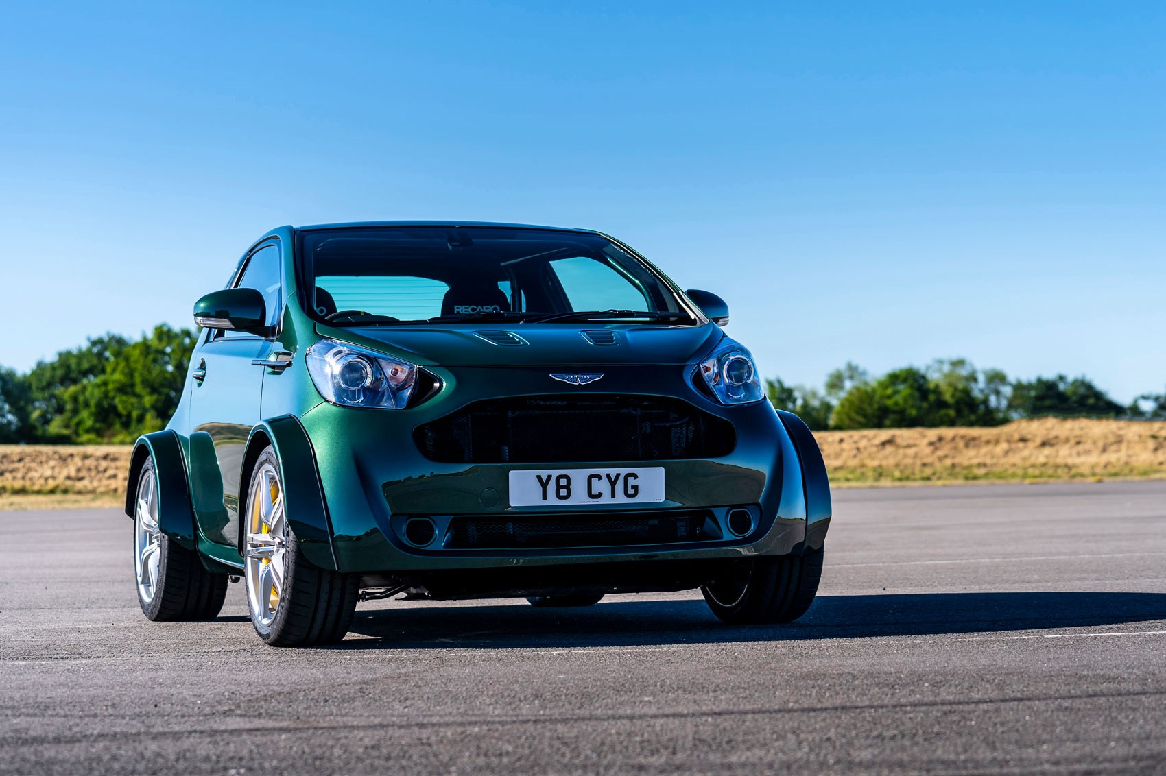Big Things Small Packages Aston Martin Reveals V8 Cygnet Car