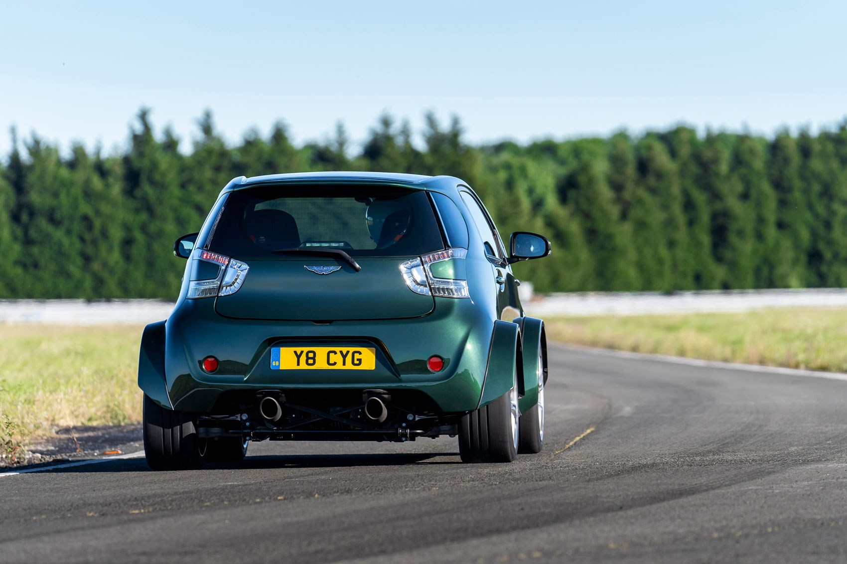 Big Things Small Packages Aston Martin Reveals V Cygnet CAR - Aston martin cygnet for sale