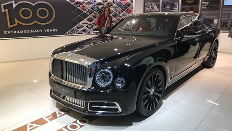 Bentley Mulsanne WO at Geneva 2019