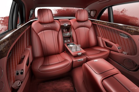 Mulsanne W.O. rear seats