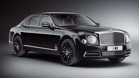 Exclusive Bentley Mulsanne W O Edition Wafts In