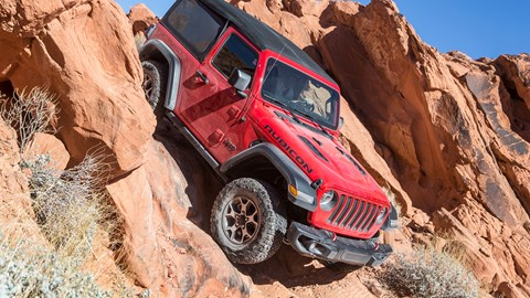 Jeep Wrangler (2018) review: full on and off-road verdict