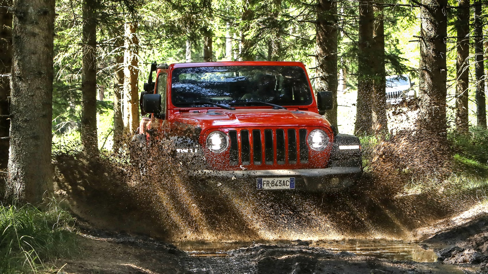 Wrangler Rubicon off-road