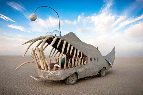 art car brown
