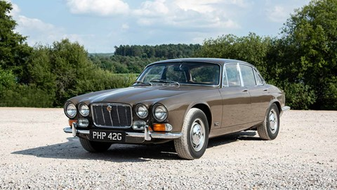 The 1968 Jaguar XJ