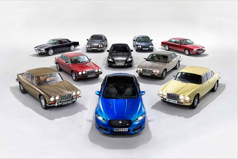 All the key Jaguar XJ limousines of the past 50 years