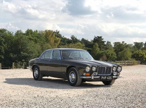 Sir William Lyons' company car: a beautifully original Jaguar XJ6