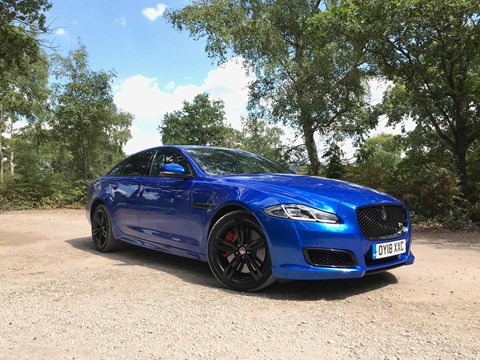 The Jaguar XJR 575: a bit of a beast