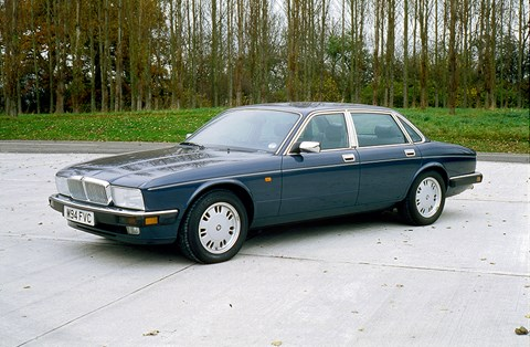 The last-ever Jaguar XJ40 built: the 1994 Sovereign 4.0-litre