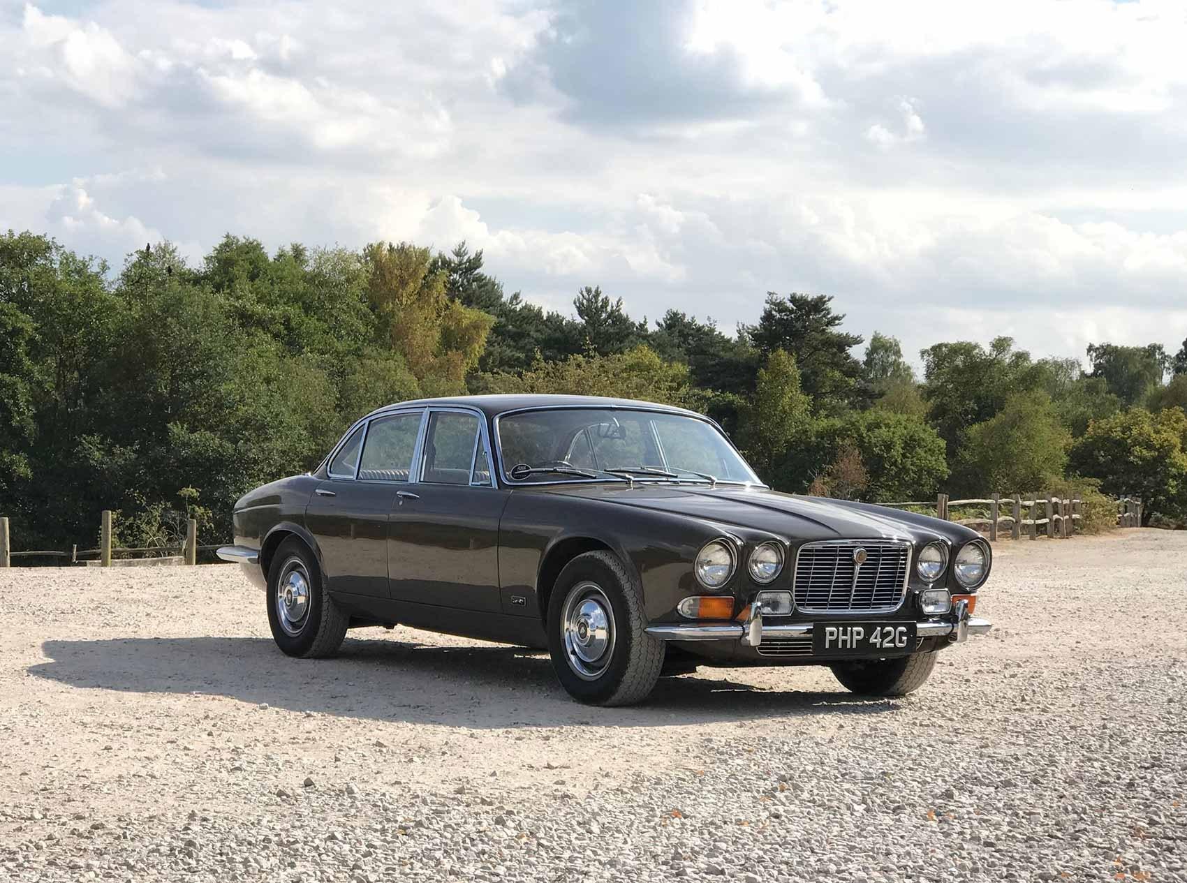... Sir William Lyonsu0027 Company Car: A Beautifully Original Jaguar XJ6 ...