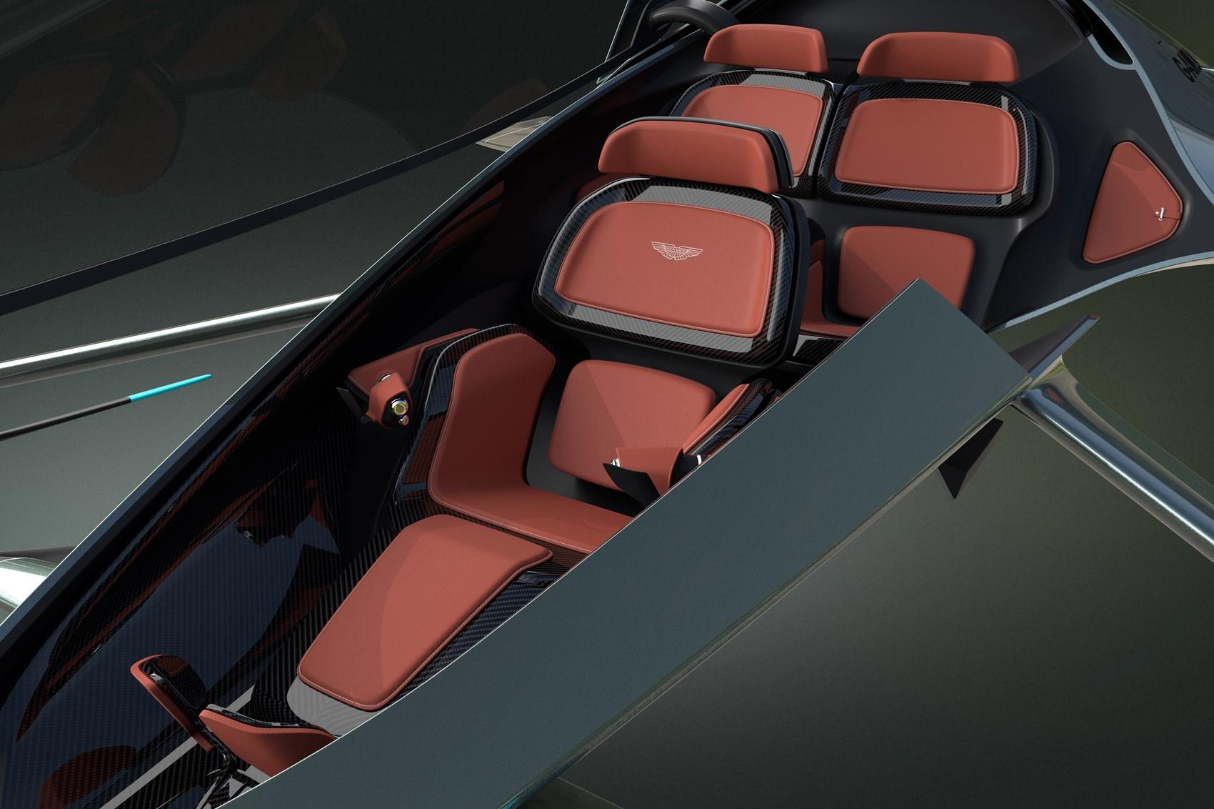 Aston Martin Volante Vision concept is sporty aircraft ...