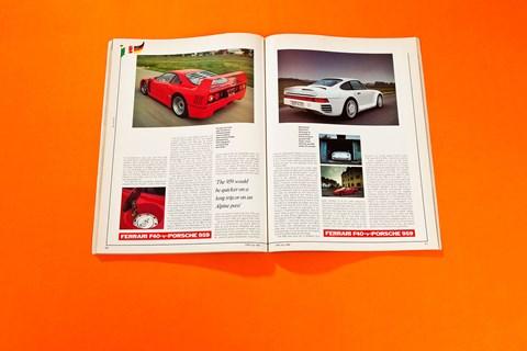 Ferrari F40 v Porsche 959