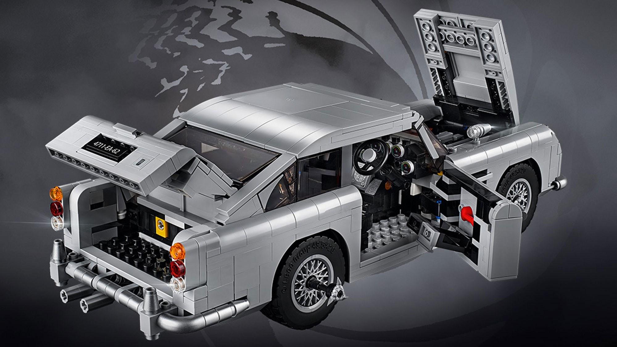Aston Martin And Lego Reveal Bond Db5 Car Magazine
