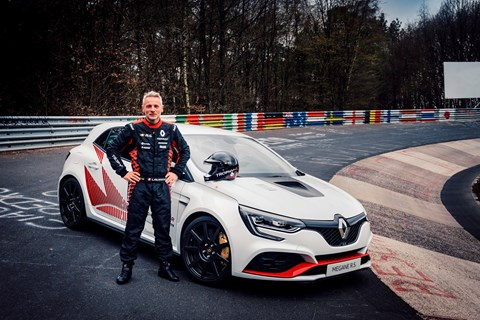 Megane RS Trophy R lap record