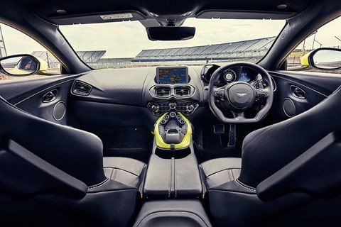 Aston Martin Vantage interior and cabin