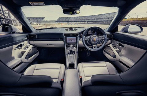Porsche 911 GTS interior and cabin
