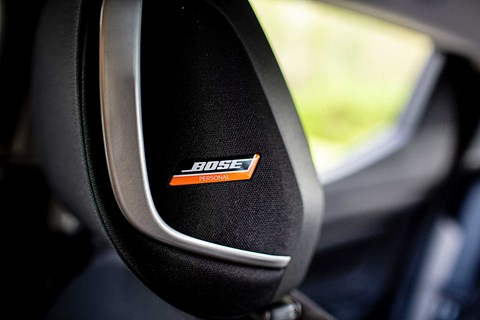 Nissan PersonalSpace speakers are built into headrests of the Nissan Micra