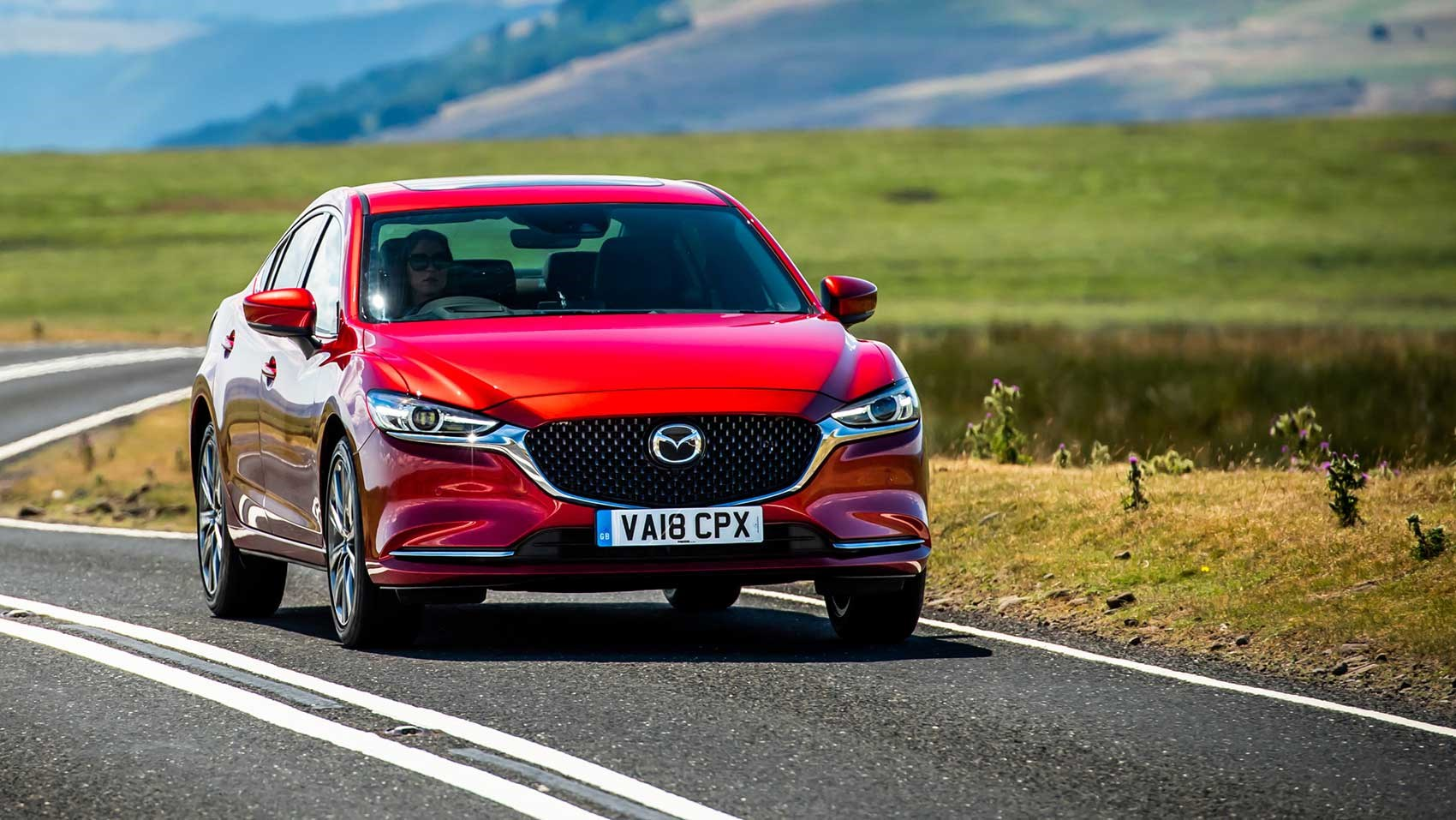 New Mazda 6 saloon ...