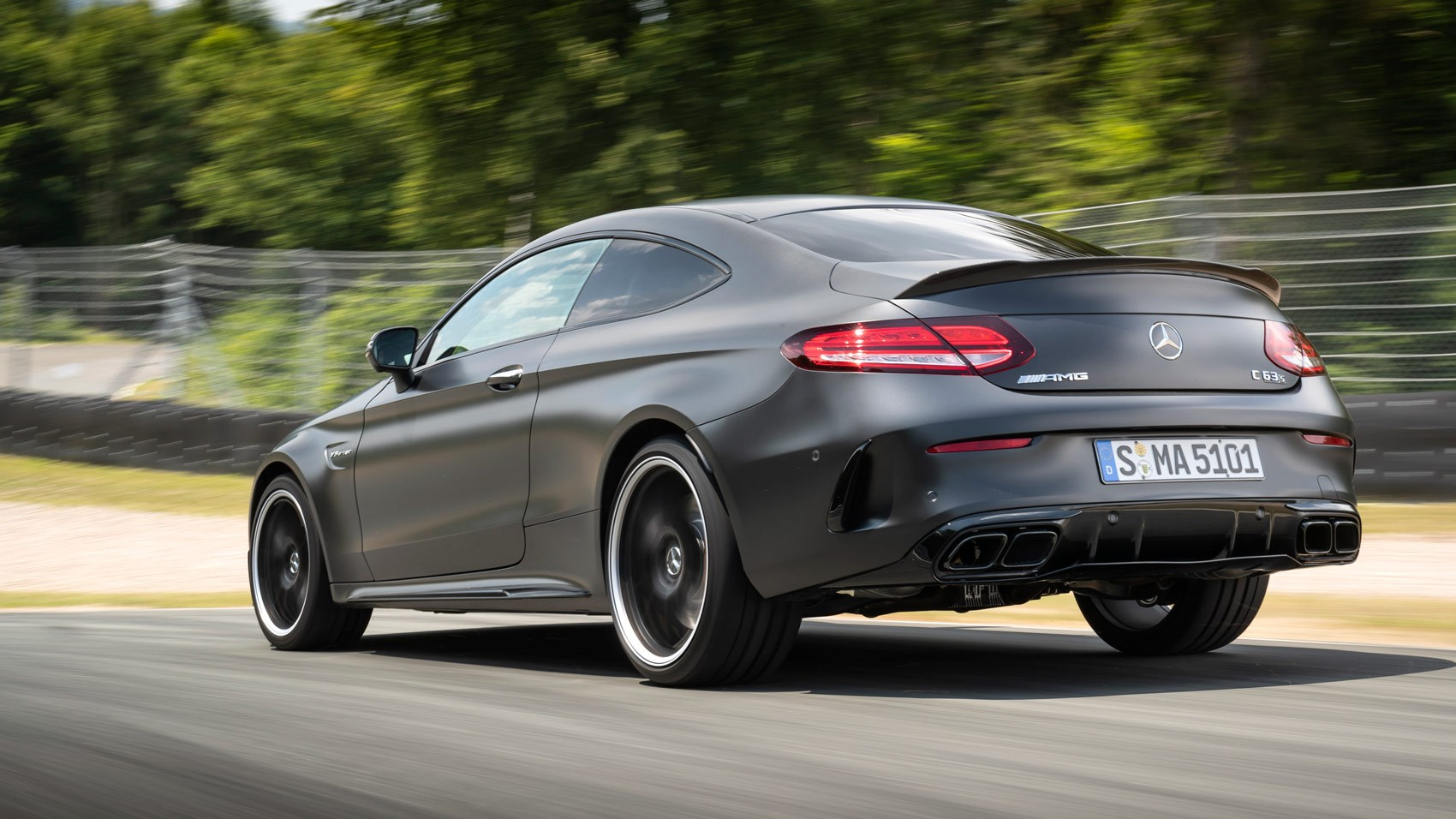 C63 Amg Coupe >> Mercedes Amg C63 S Coupe 2018 Review Endlessly