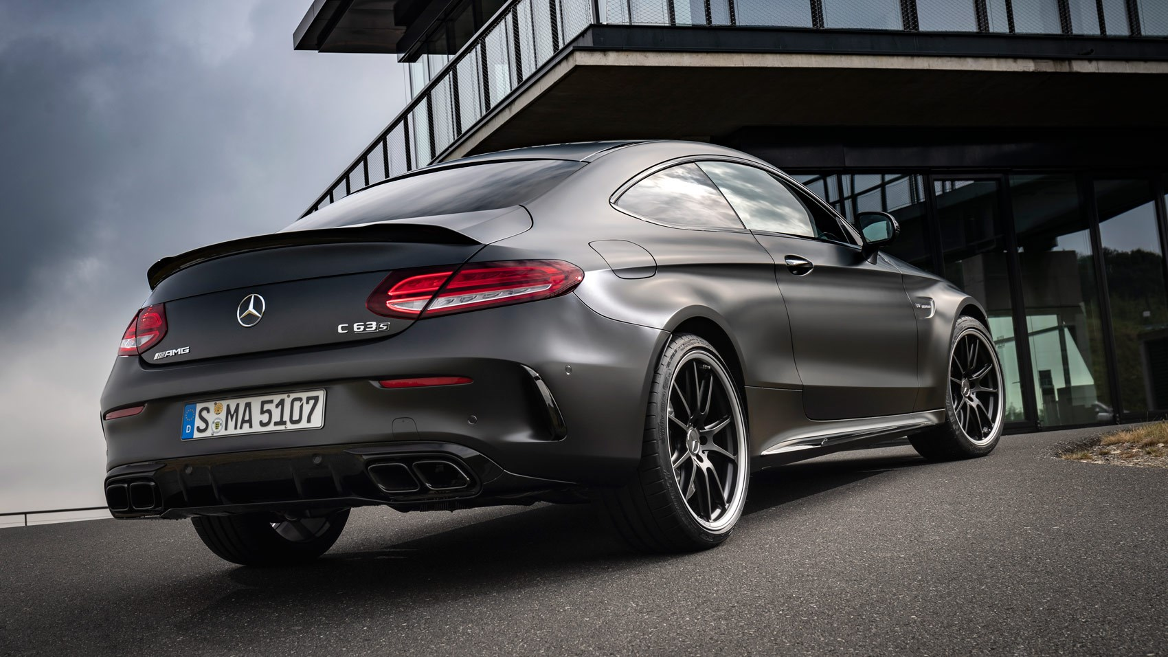 Mercedes Amg C63 S Coupe 2018 Review Endlessly