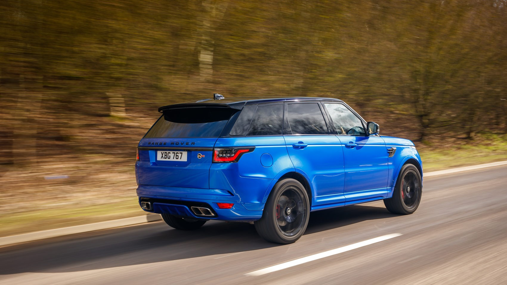 Range Rover Sport Svr 2018 Review Thor On Wheels Car Magazine