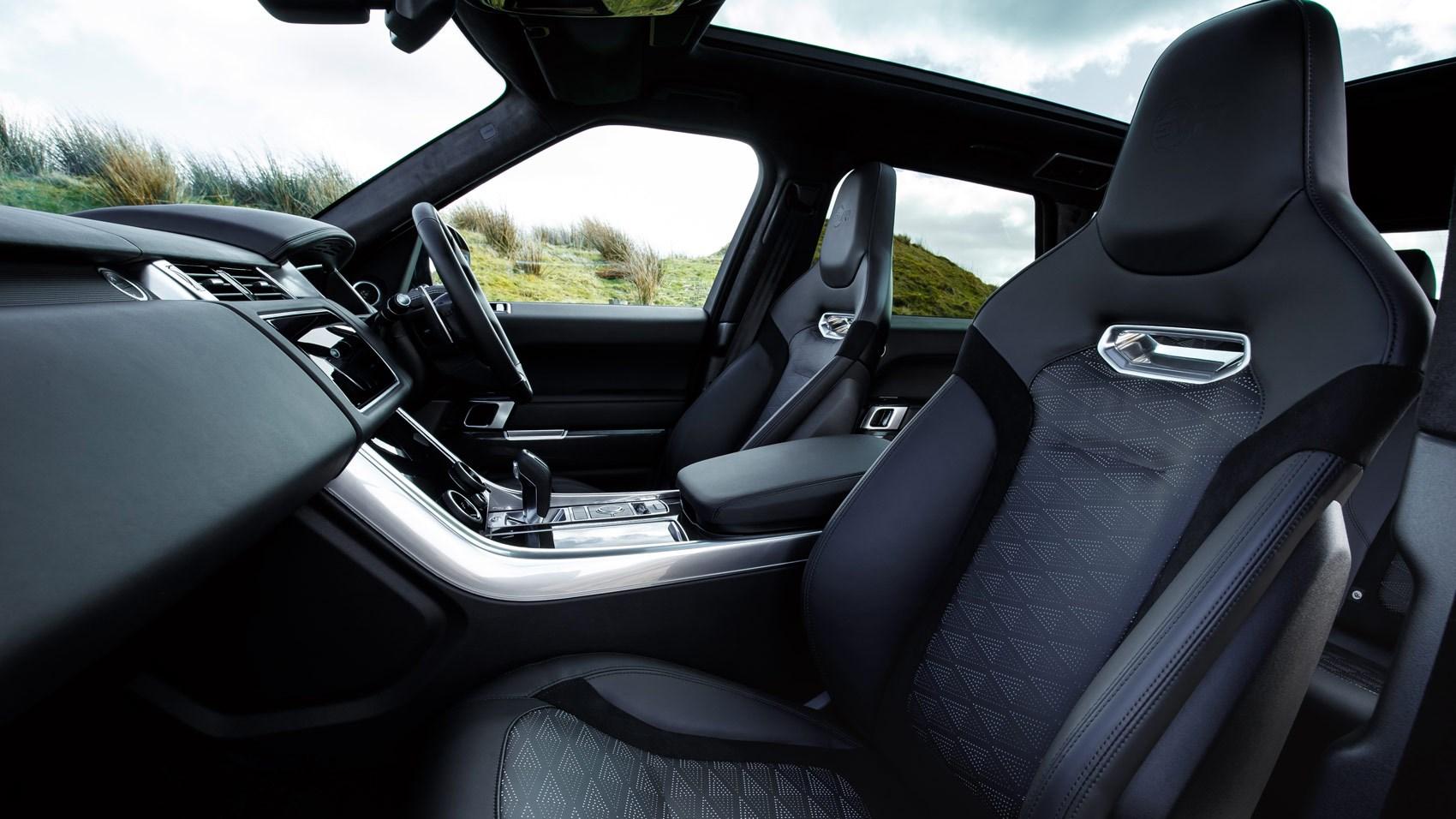 Range Rover Sport SVR 2018 interior