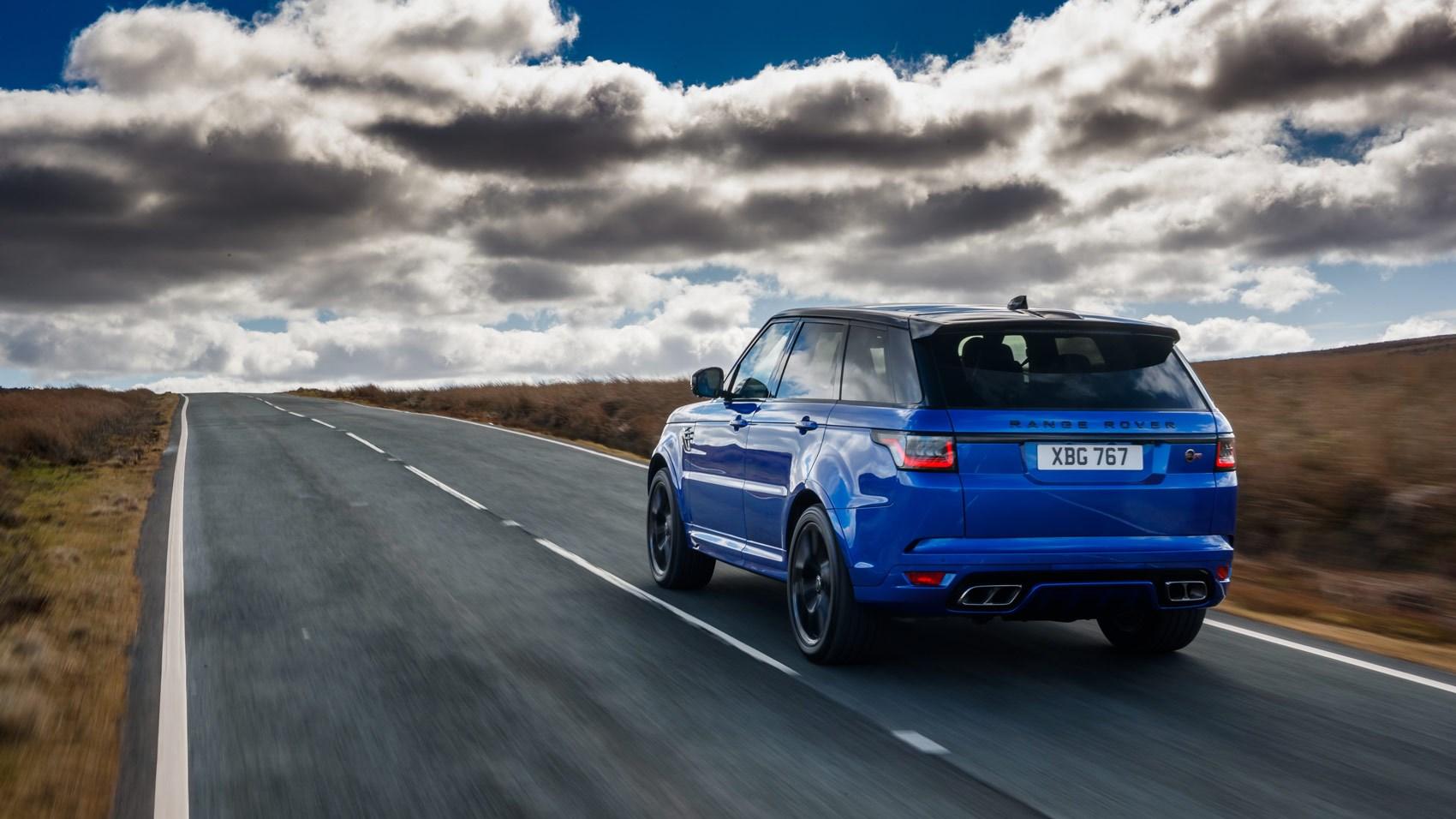 Range Rover Sport SVR 2018 rear