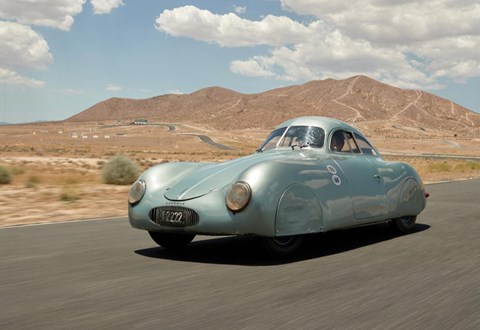 Bids for this Type 64 - the earliest known Porsche - briefly skyrocketed to $70m after a communication breakdown