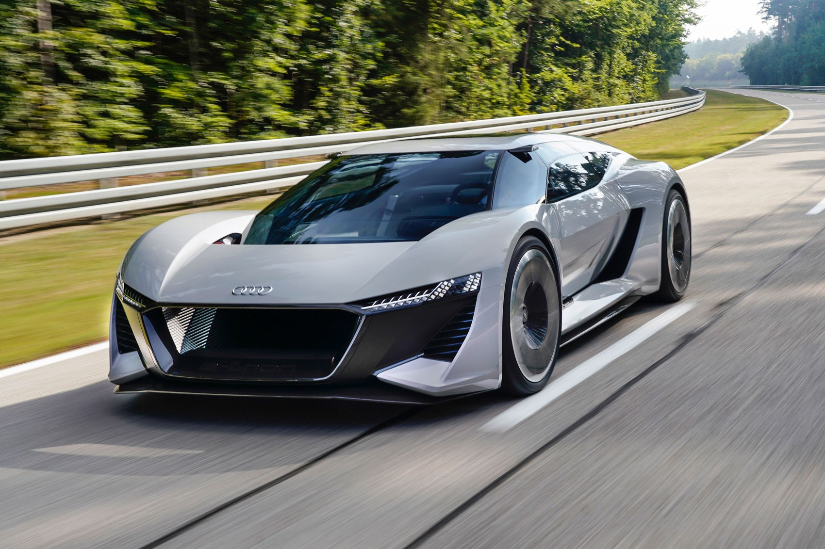 audi pb18 etron ev more than a concept car magazine