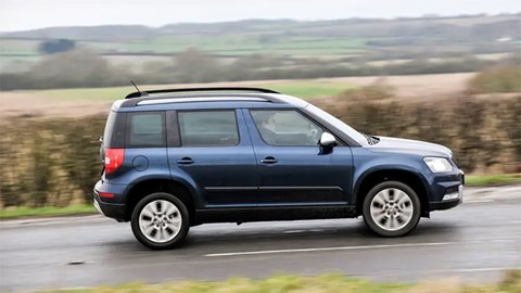 The Arona reminds people of the Skoda Yeti – but it's coincidental