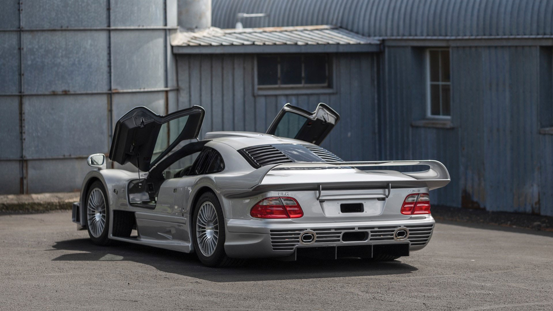 Most Expensive Car Seat >> This stunning Mercedes CLK GTR is being sold at Pebble ...