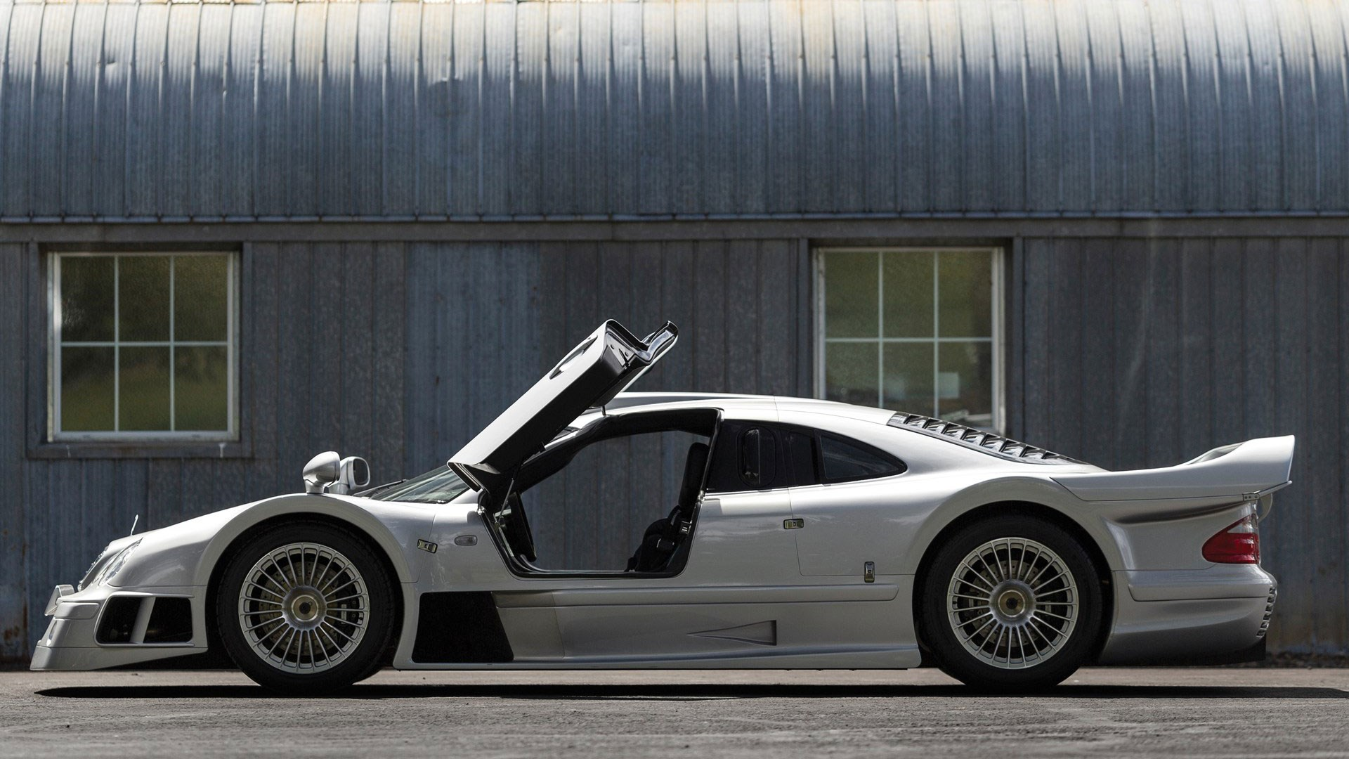 This stunning Mercedes CLK GTR is being sold at Pebble ...