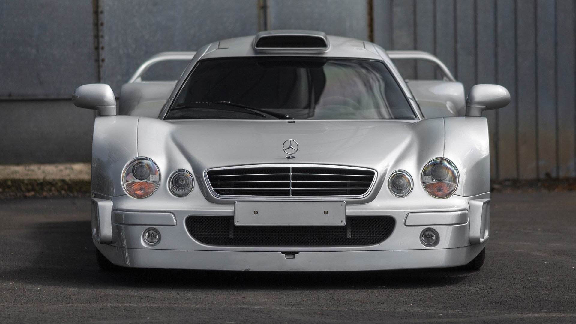 This Stunning Mercedes Clk Gtr Is Being Sold At Pebble