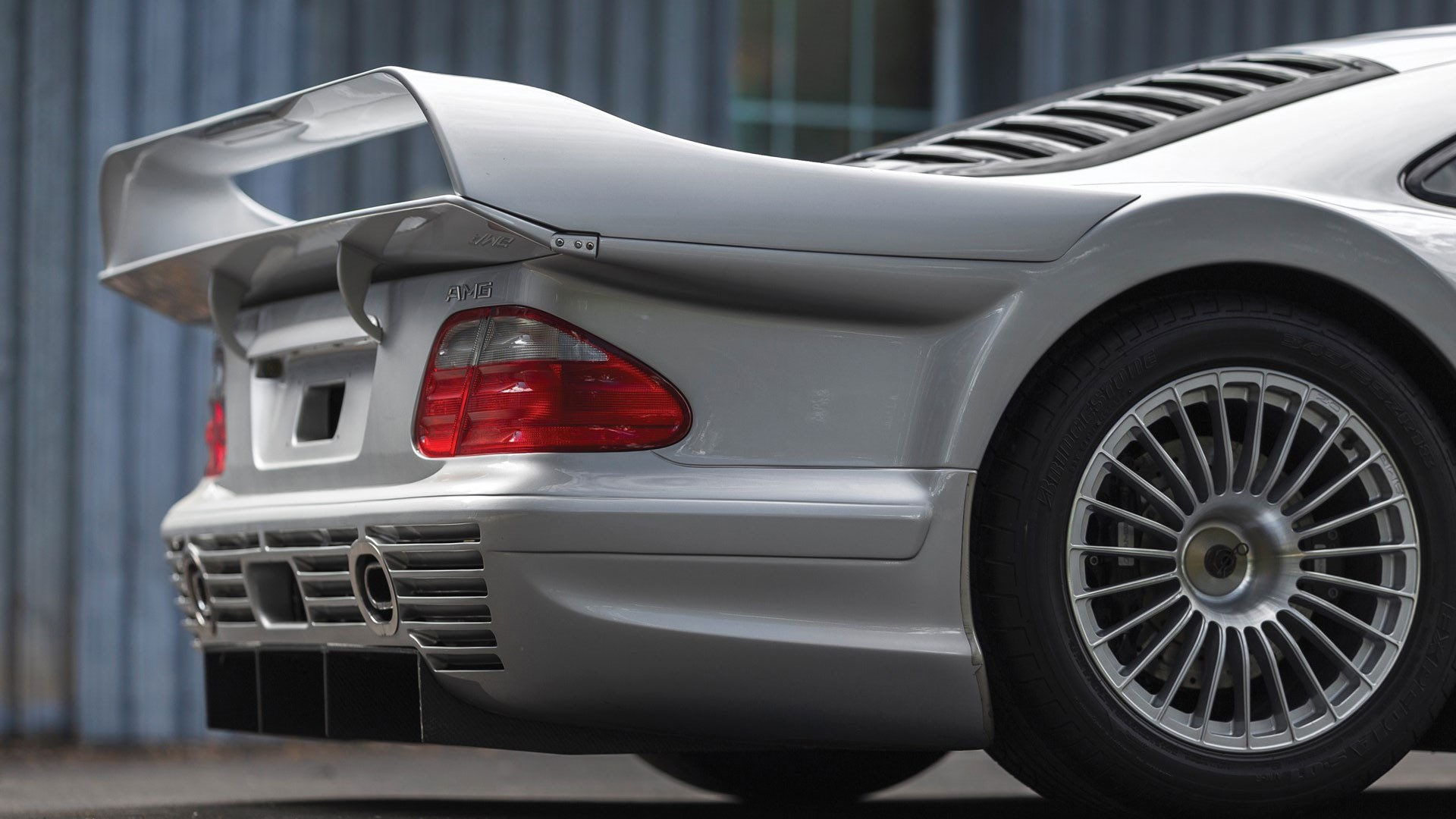 This Stunning Mercedes Clk Gtr Is Being Sold At Pebble Beach Car