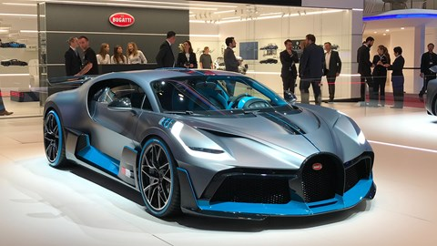 Bugatti Divo at Geneva 2019 - front view
