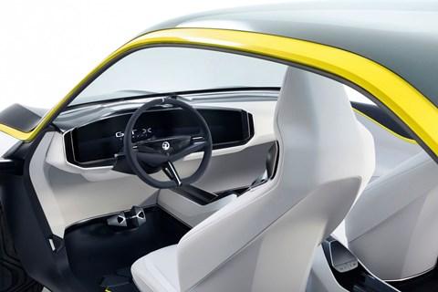 GT X Experimental interior