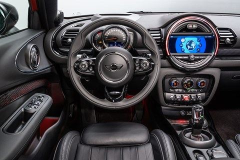 Mini Clubman interior
