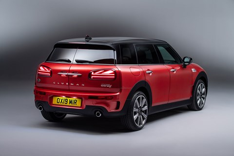 Mini Clubman: now with Union Jack rear lamps