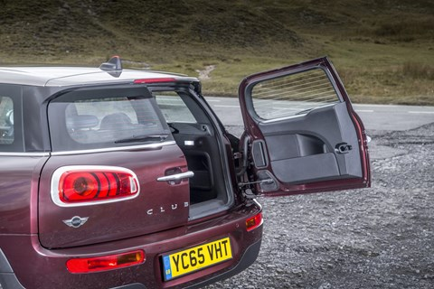 Mini CLubman rear doo