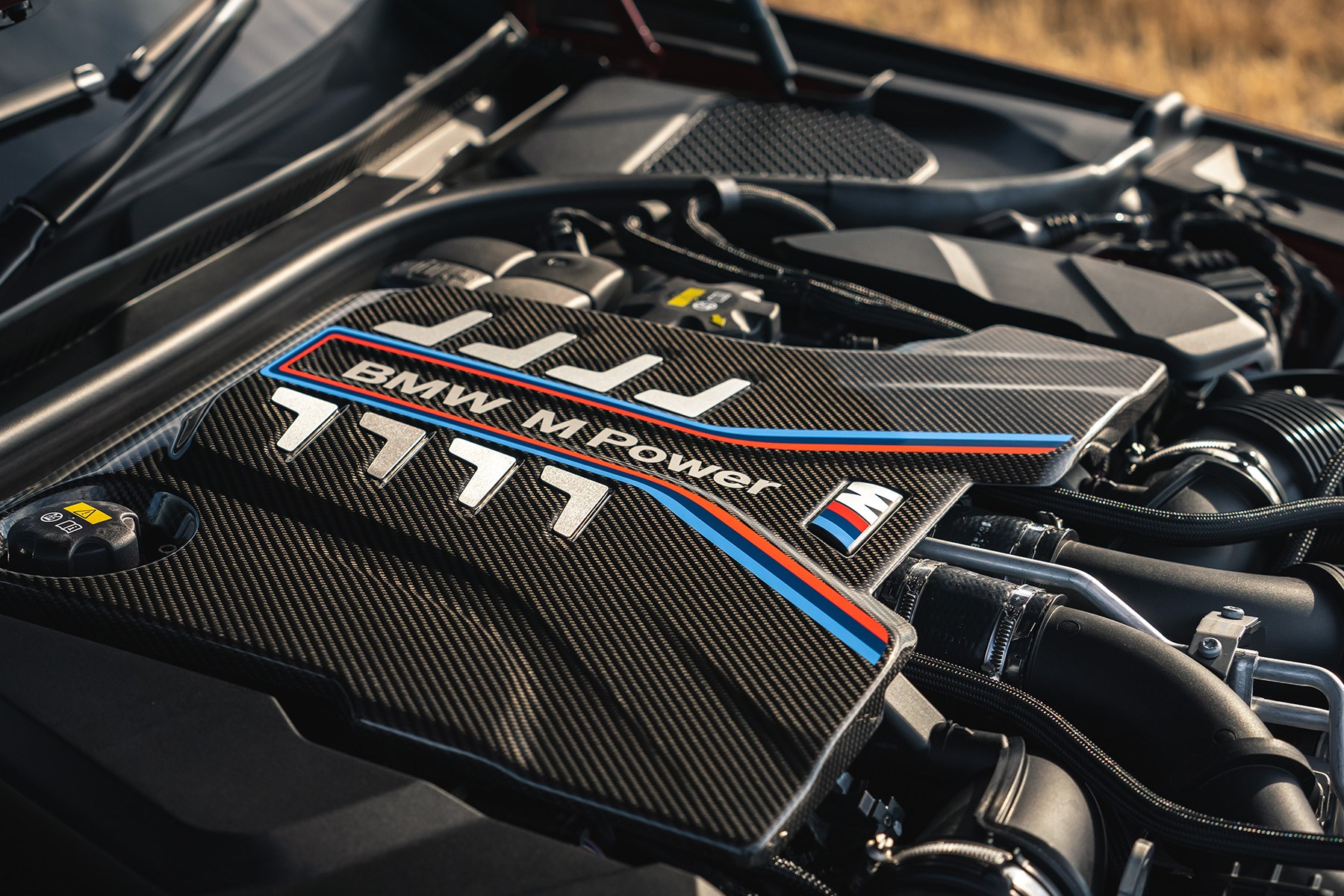 BMW M5 Competition V8 engine 2020
