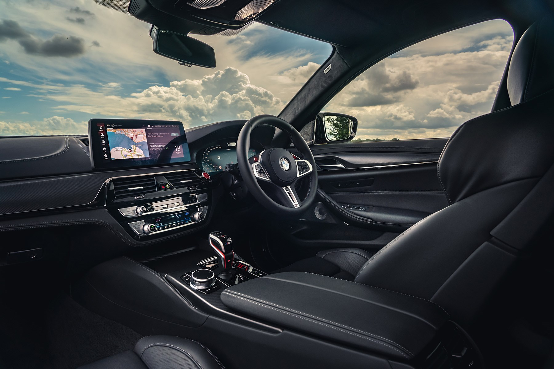 BMW M5 Competition interior 2020