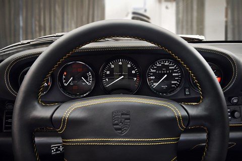 Porsche Project Gold interior