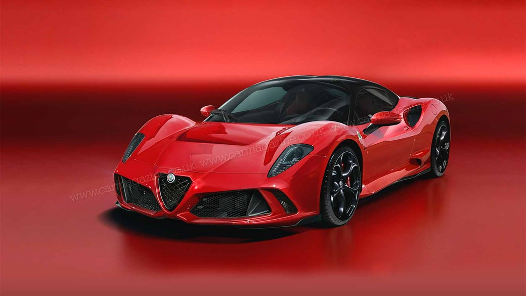 The New Alfa Romeo 8c Prepare To Drool From 2021