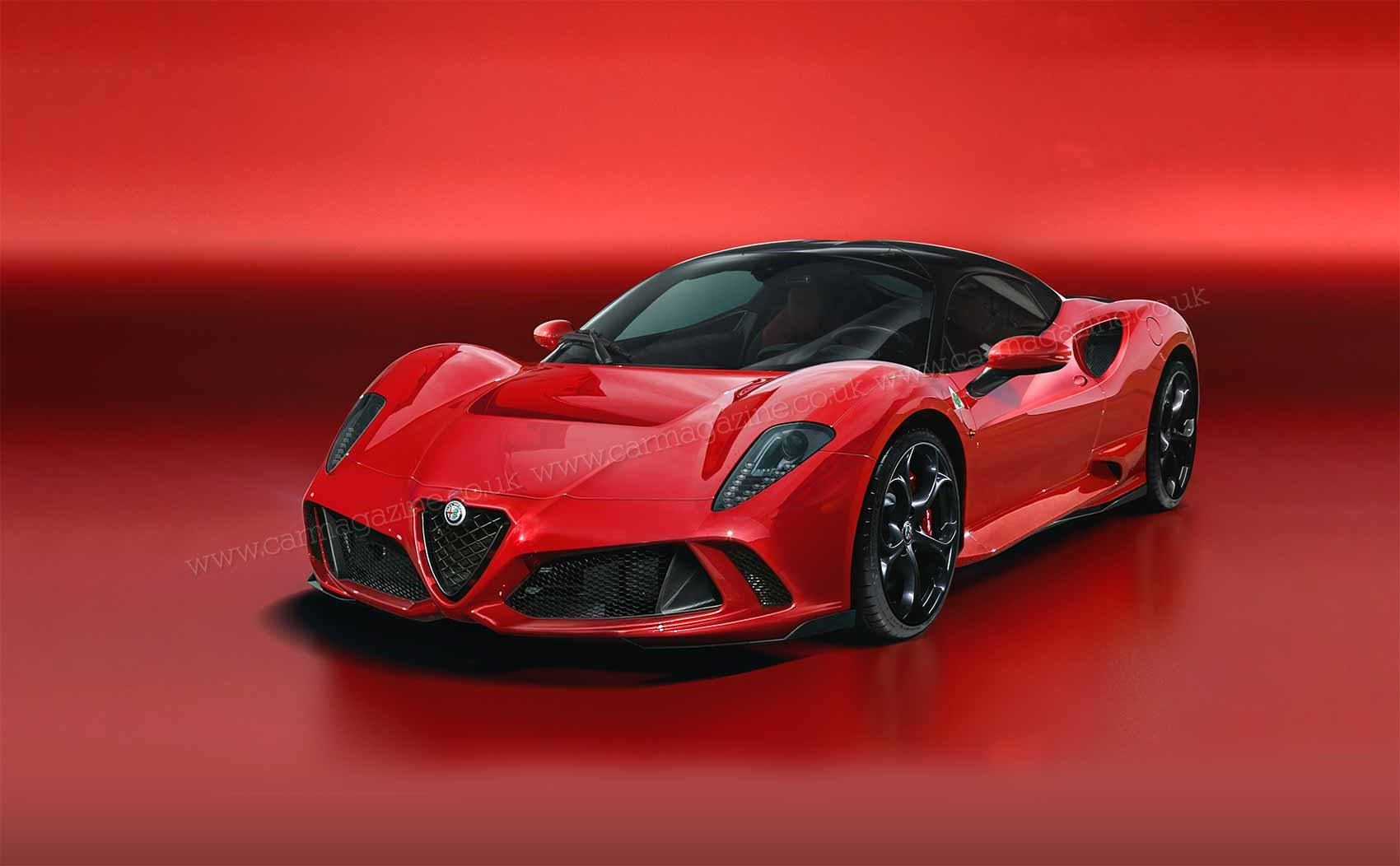 Car Magazine S Alfa Romeo 8c Artist Impression By Andrei Avarvarii Expect The New