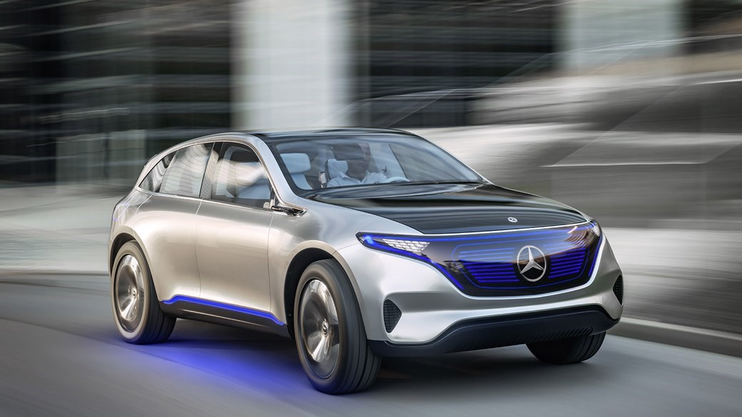 Mercedes Eqc 1886 Edition Revealed In New York